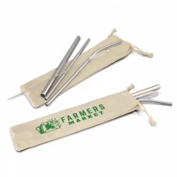RE80369 - Stainless Steel Straw Set